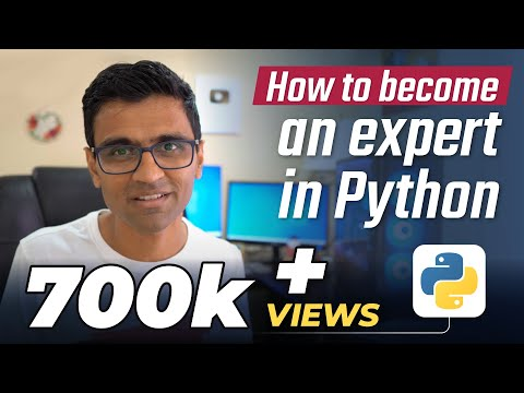 How to become an expert in python programming