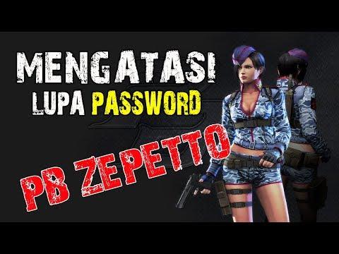 Mengatasi LUPA PASSWORD - PB Zepetto Indonesia