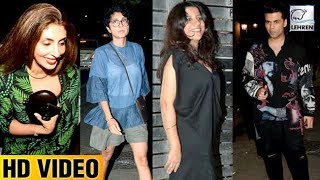 Zoya Akhtar's 46th Birthday Party Full Video HD | Shah Rukh Khan, Shweta Bachchan | LehrenTV