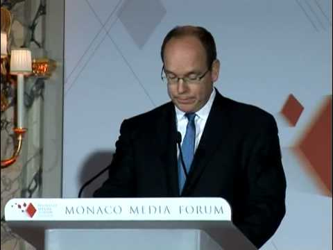MMF 2008 Special Award remarks by HSH Prince Albert II