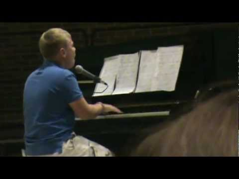 Chasing Pavements Piano, Adele - 12 year old boy
