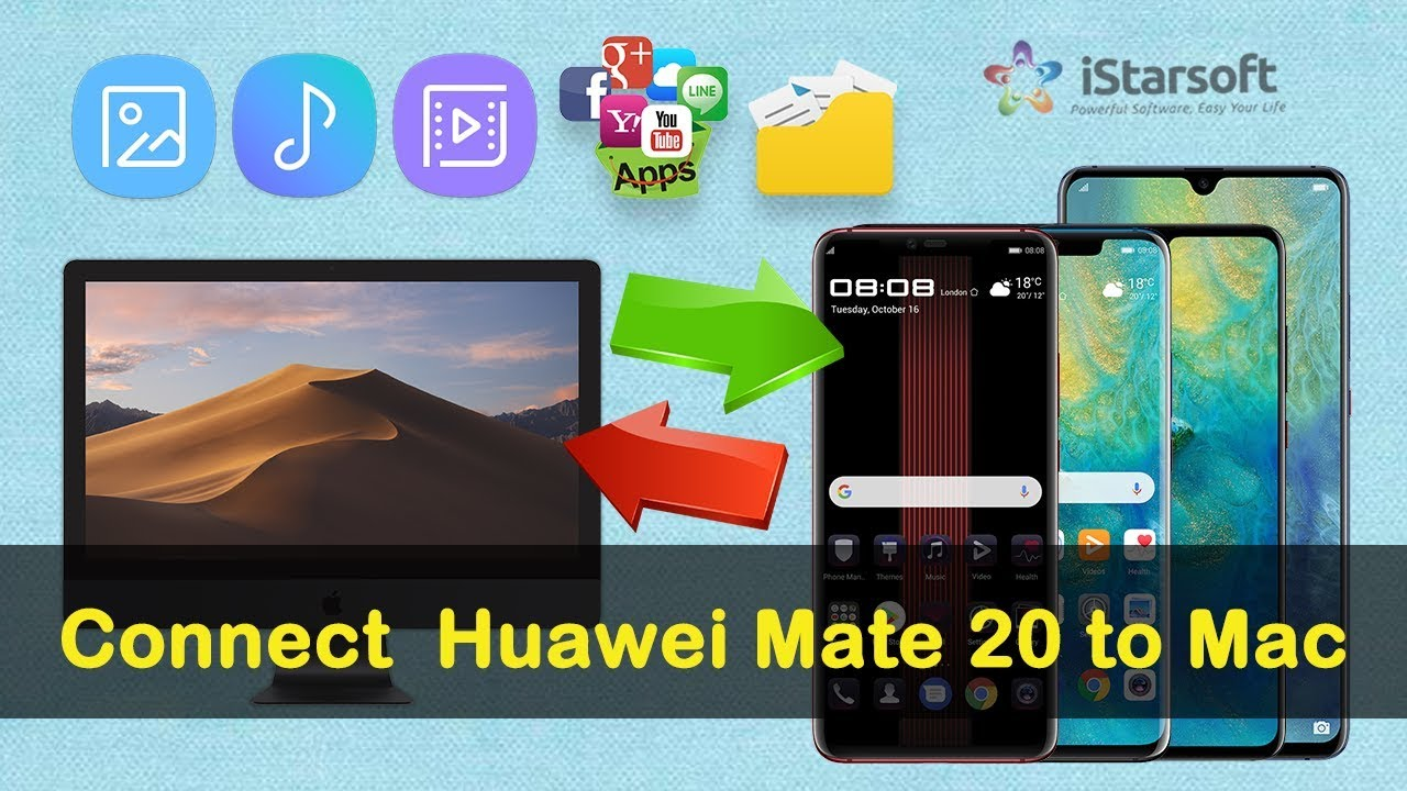 How to Connect Huawei Mate 20 to Mac (Android 9 0 & macOS 10 14 Mojave  Included)