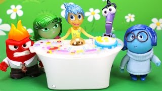 Inside Out Full Set Console Light Up Toys. Joy, Disgust, Fear, Sadness & Anger. DisneyToysFan.