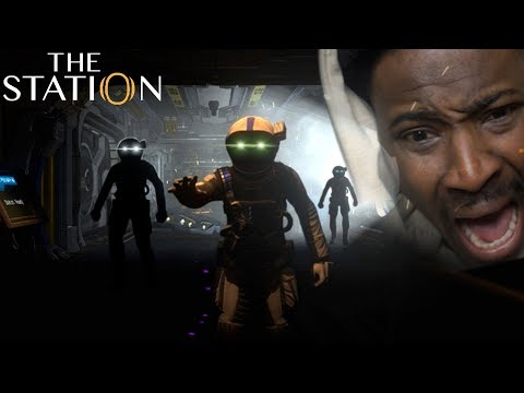 They're WATCHING Me | Station Gameplay - FULL Walkthrough *w/HEART RATE MONITOR*