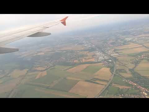 Přistání na letišti v Brně 2017