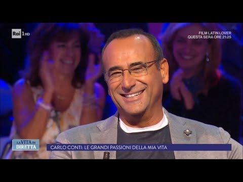 Carlo Conti: 'Le grandi passioni della mia vita' - La Vita in Diretta 20/09/2017