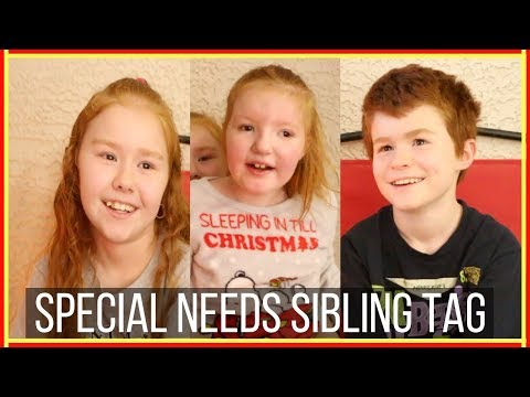 Special Needs Sibling Tag
