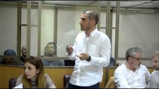 адвокат Ринат Гамидов выступил в военном суде с заявлением(, 2015-07-04T23:12:33.000Z)