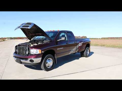Review of 2004 Dodge Ram 3500 Crew 4x4 Dually Diesel~Cummins 5.9L Diesel~Fantastic Condition!