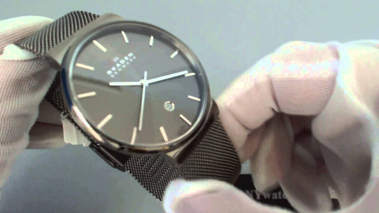 black men product hagen watches with ethos large for watch dial skagen