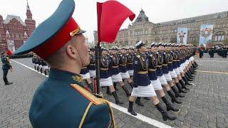 Rusia muestra su poderío militar en el desfile del Día de la Victoria