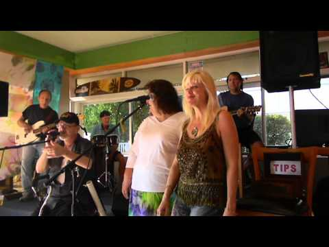Tommy Devine at The Bearded Clam With Rebecca Bird and Lady Kat Oct 2014
