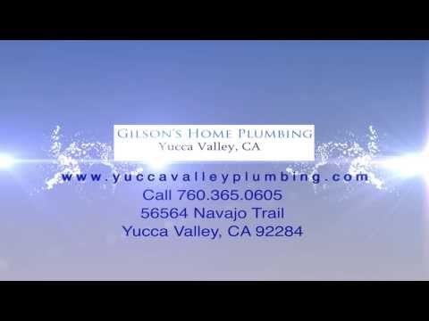 Plumbing Services In Yucca Valley Ca