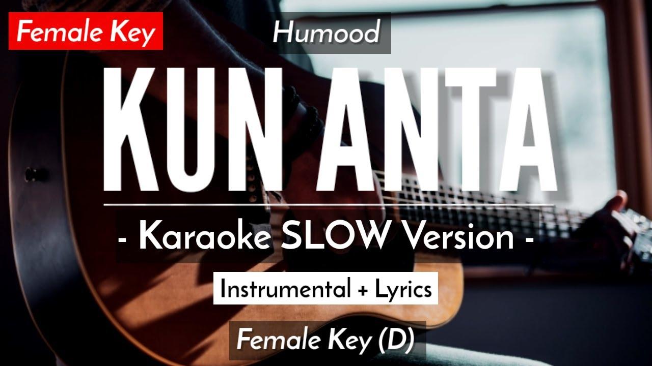 Kun Anta - Humood Alkhudher - Lirik Lagu Karaoke Populer