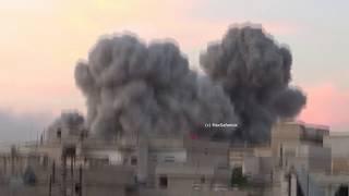 Russian aviation bombed terrorist targets in Syria | Russian Aviation in Syria