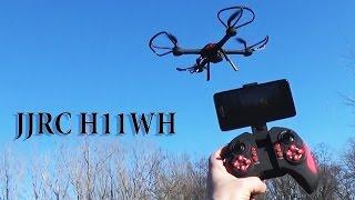 JJRC H11WH Распаковка и обзор квадрокоптера