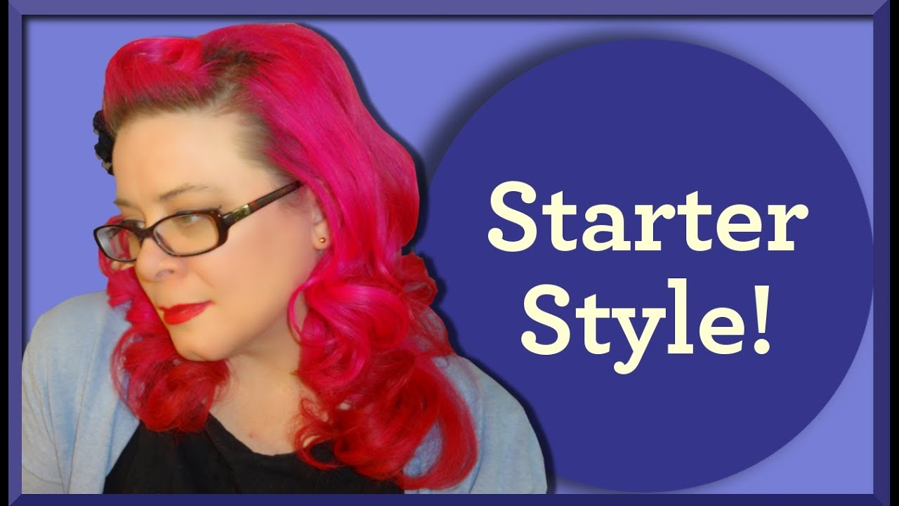 Easy Rockabilly Hairstyle Using Only 3 Products Great For