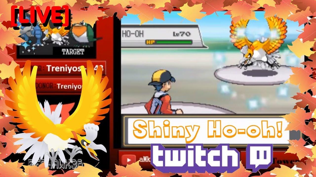 [LIVE!] Shiny Ho-oh after 10,619 SR's! (SS) - YouTube
