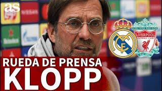 Real Madrid vs. Liverpool | Rueda de prensa de KLOPP | Diario AS