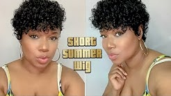 Perfect Summer Short Wig   GRWM Natural Glow   Outre Finger Roll