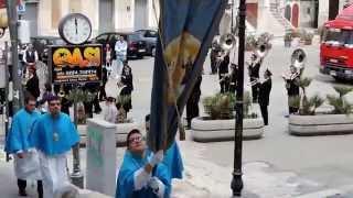 Vieste / San Giorgio , passaggio per il centro storico