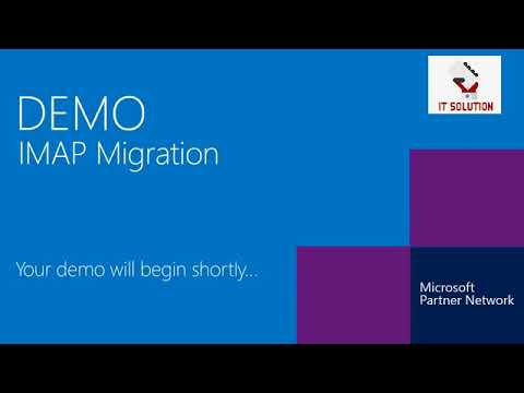 Perform IMAP Migration to Office 365 Step by Step - YouTube