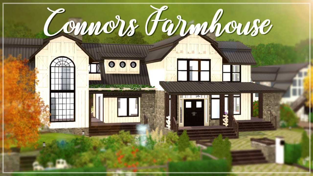 The sims 3 speed build connors farmhouse 🏠
