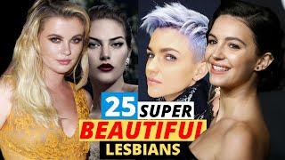 25  Hottest/Beautiful Lesbian/Bi Celebrities in the World