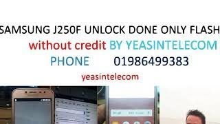 Download - Samsung J250F Country Unlock Without Samkey