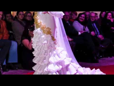 Desfile de moda flamenca,2014. Trinidad Rodriguez