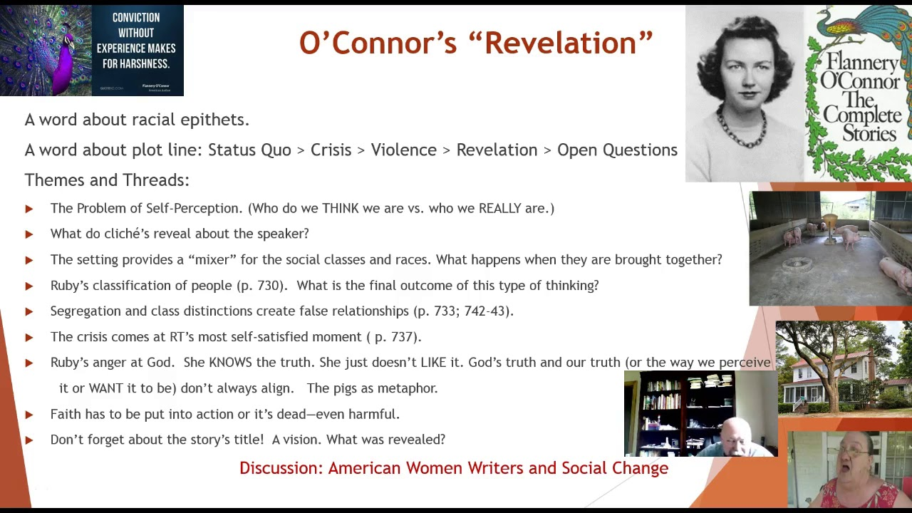 flannery o connor revelation short story