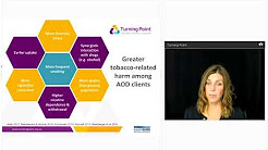 Webinar series: Smoking cessation during AOD treatment, are we doing enough?