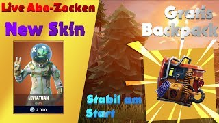 🔴HELDEN-SKIN COMES TODAY!!! Fortnite Live Stream now ABO ZOCKEN German PC/English/Live