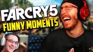 SKUNK ATTACK! - Far Cry 5 Funny Moments w/ Jericho