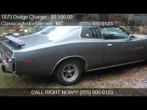 1973 dodge charger for sale in nationwide nc 27603 at clas vnclassics youtube. Black Bedroom Furniture Sets. Home Design Ideas