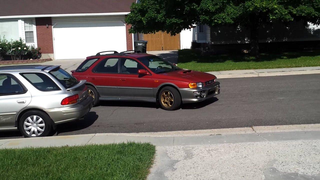 2000 Subaru Outback Sport Youtube