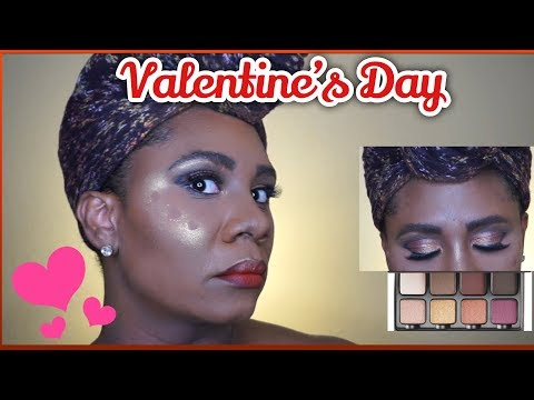 VALENTINE'S DAY MAKEUP TUTORIAL AND VISEART EYESHADOW REVIEW GRWM PART 3