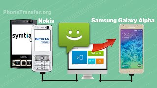 How to Copy SMS Text Messages from Nokia to Samsung Galaxy Alpha via MobileTrans