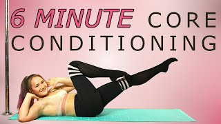 6 Minute Core Workout   Follow Along!