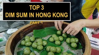 The BEST DIM SUM in Hong Kong!