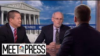 NBC News / WSJ Poll: Party Extremes Leaves Room For Moderates   Meet The Press   NBC News