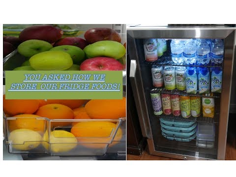 WHAT'S IN OUR FRIDGE? FOOD PREP & OUR NEW BEVERAGE COOLER|| NEWAIR