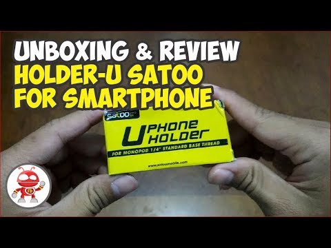 Unboxing and Review Holder U Satoo For Smartphone - Holder U Murah Berkualitas Gaes !!