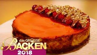 Warmer Cheesecake: Wessen Käsekuchen ist der beste? | Verkostung | Das große Backen 2018 | SAT.1 TV