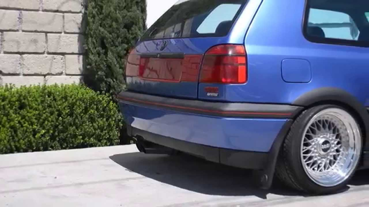 Volkswagen Golf Gti Vr6 98 Youtube