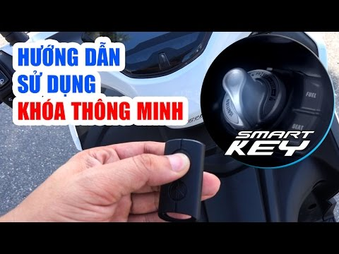 SMART KEY ▶ Hướng Dẫn Sử Dụng Chìa Khóa Thông Minh Yamaha NVX 155cc Và Janus