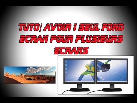 TUTO/Avoir 1 seul fond écran pour plusieurs écrans
