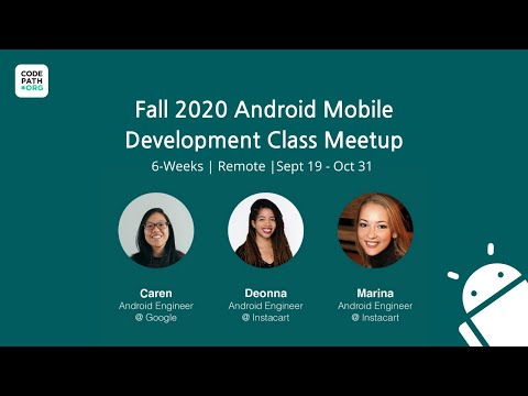 Android University Meetup - Fall 2020