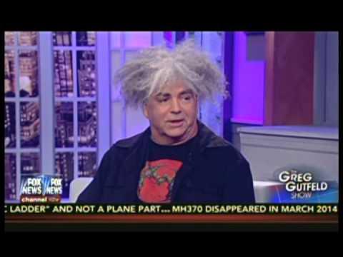 King Buzzo of The MELVINS Talks Thomas Sowell on The Greg Gutfeld Show FOX News Red Eye
