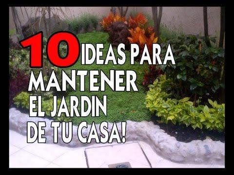 10 ideas para mantener el jardin de tu casa sin gastar - Casetas para el jardin ...
